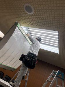 天井照明取付